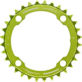Race Face Narrow Wide Chainring 4-bolt 10/11/12-speed green